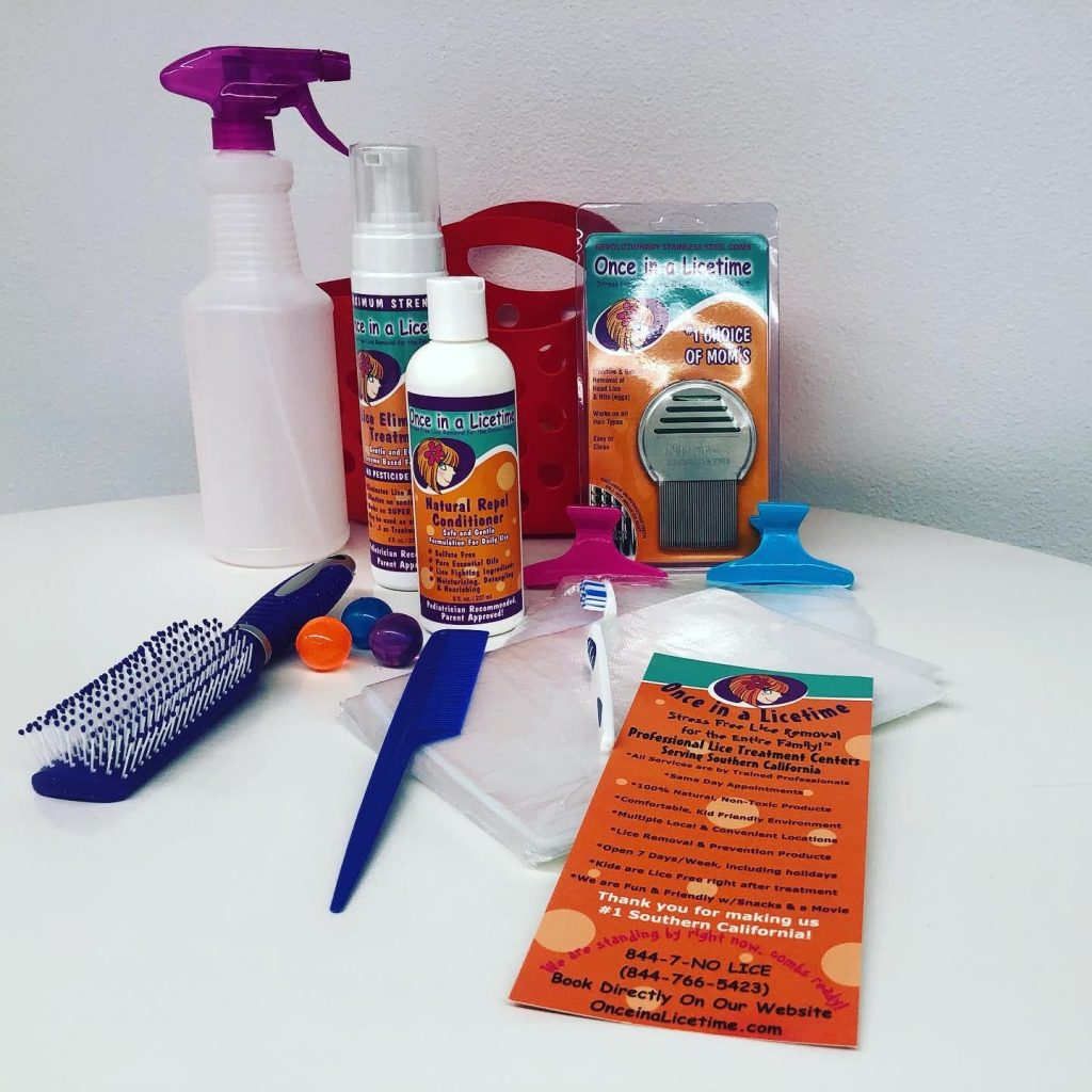In home Head Lice removal kit